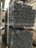 Голубые покрашенные леса рамки каменщика ремонтины стальные