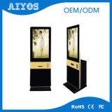 42 46 55 65 pulgadas LCD que hacen publicidad de la señalización de Digitaces del soporte del suelo de la visualización de pantalla