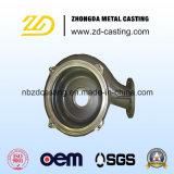 Form-Stahl-Präzisions-Gussteil-Pumpen-Gehäuse