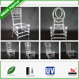 Resina plástica Clear White Wedding Party Children Chiavary Chairs