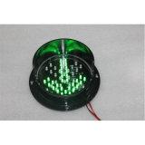 Mini sinal personalizado do diodo emissor de luz da recolocação 125mm do tráfego da seta