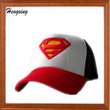 Sombrero de béisbol neto del supermán del hilado