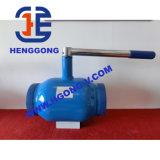 Литая сталь Wcb DIN/API/JIS плавая сваренный шариковый клапан
