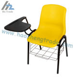 Cadeira ergonómica da pilha do escudo do preto da capacidade Hzpc013 com frame preto