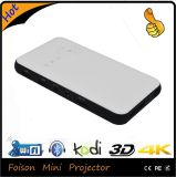 Mini Portable de Foison para o projetor do bolso 4k do teatro Home