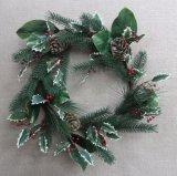 Het beste Verkopen voor de Decoratie van Kerstmis (het Blad van de Magnolia/de Traan van de Bes van de Hulst)