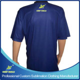 Custom Customized Sublimation Printed Bowling Camisas para Bowling Sports