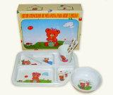 Установленный Dinnerware детей меламина (CH005C)