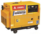 Электрический генератор Sh3kw портативный тепловозный устанавливает (LB4000LN) для того чтобы иметь в сатинировке Никеле (1914 серии)