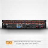 Canaletas do amplificador de potência 2 da parte alta para o estágio