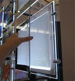 Cristal lateral doble RGB que hace publicidad del rectángulo ligero del LED