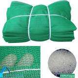 HDPE 녹색 건축 용지 보호 안전 Net/PE 플라스틱 바람막이 그물