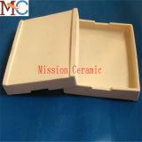 Crogiolo di ceramica di allumina di figura 99.7% rettangolari