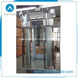 cabina de la cabina, brillante y de Commerical del elevador del pasajero 630kg de la elevación (OS41)