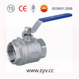 1PC Reduced Port, Ss304, 1000wog (PN64) Screwed Ball Valve