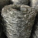Arame farpado / arame farpado galvanizado / arame farpado revestido de PVC