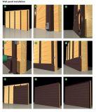 Painel de parede composto novo do material WPC para a casa de madeira