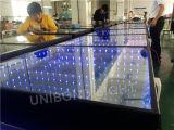 Diodo emissor de luz Dance Floor infinito na mostra do casamento
