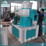 Máquina de madera vertical de la pelotilla de la fabricación del molino superior de las hojas de palma