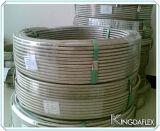 Tubo flessibile Braided ondulato dell'acciaio inossidabile R14/Teflon del tubo interno