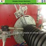 HDPEはCurrugatedの螺線形の巻上げの管の放出ラインの側面図を描いた|機械の作成