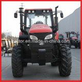 130HP o trator agricultural, quatro rodou o trator de exploração agrícola (KAT 1304)