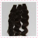 O cabelo grosso da extensão reta brasileira do cabelo humano do cabelo do Virgin empacota o cabelo do Virgin