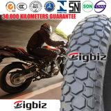 90/90-18 pneu sem câmara de ar da motocicleta do pneu grande do tamanho