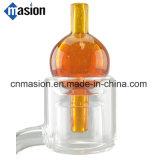 Outil en verre de Dabber d'équipement de cire de chapeau de carburateur de Dabber de pétrole (CC-1)