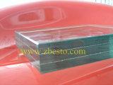 Feuille plate Tempered/stratifiée faite sur commande en verre de construction de porche de rambarde