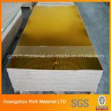 hoja de acrílico plástica de la plata de 1m m y del espejo del color de oro