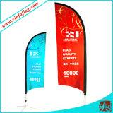 Produktionsgesellschaft-heißer Verkaufs-populäre China-Colorfast Förderung-Strand-Großhandelsmarkierungsfahne