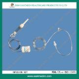 Componenti degli insiemi di infusione, insieme a gettare di infusione
