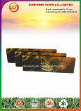 Papel de cigarro com pontas de filtro