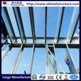 Construction en acier employée couramment d'entrepôt de structure métallique