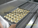 Doppio Spiral Machine Frozen Seafood Freezer per Meat Fish Fillet