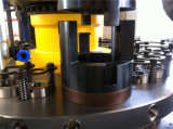 Máquina de perfuração da torreta do CNC da automatização de Dadong para o processamento do metal de folha