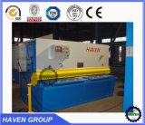 QC11Y Hydraulic Alloy 강철 깎는 기계, 금속 격판덮개 절단기, 유압 깎는 기계