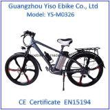 Bicicleta de montanha elétrica do núcleo 26 '' ou 28 '' do começo 350W Sumsung/bicicleta Keyless