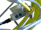 Wanne/Tilt Inspection Camera für Pipelines mit 50mm Camera Lens, 60m Testing Cable