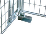 Maschendraht-faltende Rahmen-Ladeplatte