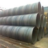 GB Q195 Q235 Q345 SSAWの螺線形の溶接された鋼管