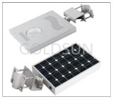 統合されたLEDの太陽庭ライト