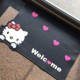 PVC macio PVC plástico de látex borracha gotejamento impressão de plástico / pé impresso / impressão bem-vindo entrada piso piso tapetes