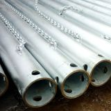 Holesの溶接されたCarbon Galvanized Steel Pipe