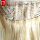 Clip superiore del grado in capelli umani della chiusura