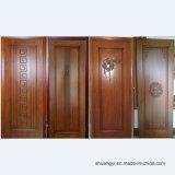 Самая лучшая продавая самомоднейшая нутряная деревянная дверь с конструкцией