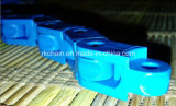Chaîne de Multiflex avec des poussoirs/collant, chaînes de boîtier plastique
