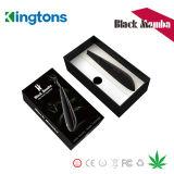 Kit asciutti portatili del vaporizzatore della mamba del nero del kit dell'erba in azione