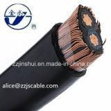 Серия 3*8AWG XLPE 0.6/1kv надземного кабеля концентрическая AAAC 8000